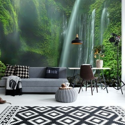 Tiu Kelep Waterfalls Photo Wallpaper Mural