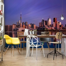 Toronto Sunrise Photo Wallpaper Mural