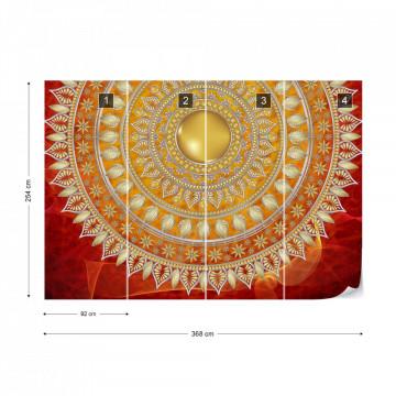 Tribal Pattern Photo Wallpaper Wall Mural