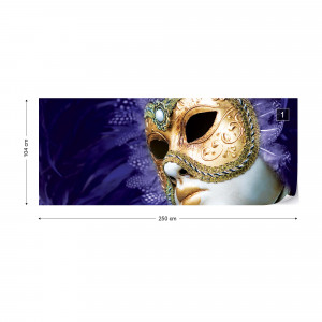 Venetian Mask Photo Wallpaper Wall Mural