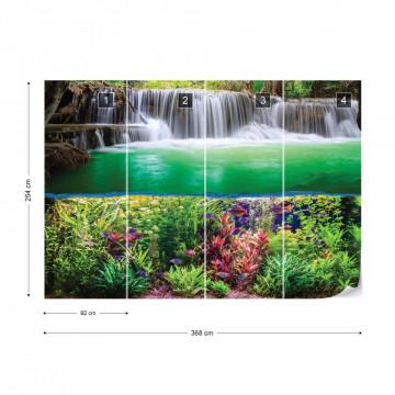 Waterfall Jungle Nature Photo Wallpaper Wall Mural