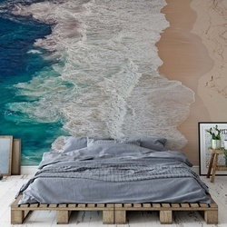 Where The Ocean Ends Photo Wallpaper Mural