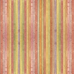 Wood Planks Colourful Photo Wallpaper Wall Mural