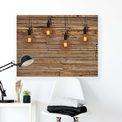 Wood Walls Canvas Photo Print