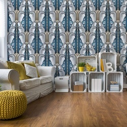 1920'S Retro Pattern Photo Wallpaper Wall Mural
