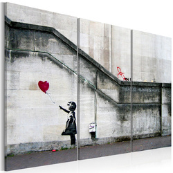 Tablou - Girl With a Balloon by Banksy