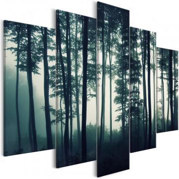 Tablou - Dark Forest (5 Parts) Wide