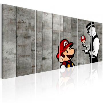 Tablou - Graffiti on Concrete