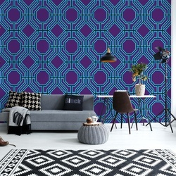 Geometric Pattern Photo Wallpaper Wall Mural