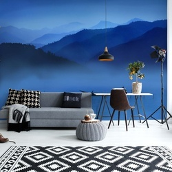 An Evening In Mountains Photo Wallpaper Mural