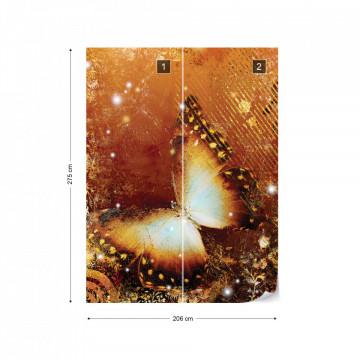 Butterfly Modern Photo Wallpaper Wall Mural