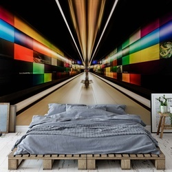 Color Zone Photo Wallpaper Mural
