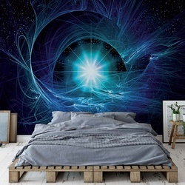 Cosmic Stars Abstract Photo Wallpaper Wall Mural
