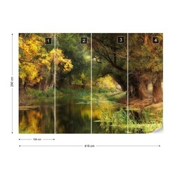 Dressed In Autumn Photo Wallpaper Mural