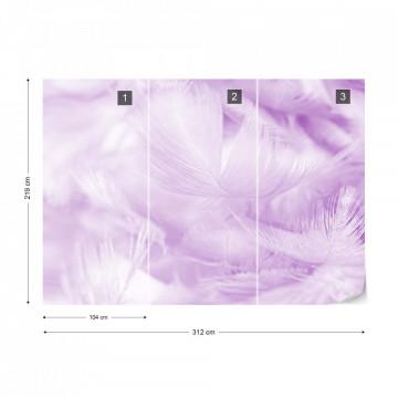 Feathers in Purple