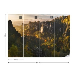 Forest Whispers Photo Wallpaper Mural
