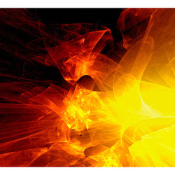 Fototapet - abstract - fire