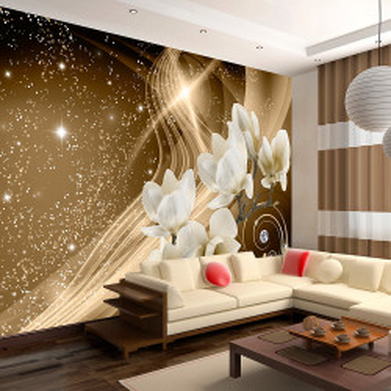 Fototapet autoadeziv - Golden Milky Way