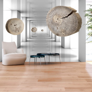 Fototapet autoadeziv - Inventive Corridor
