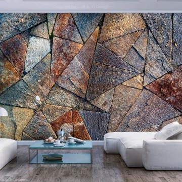 Fototapet autoadeziv - Pavement Tiles (Colourful)