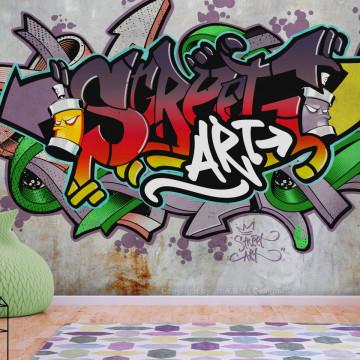 Fototapet autoadeziv - Street Classic (Reggae Colours)