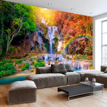 Fototapet autoadeziv - Tat Kuang Si Waterfalls