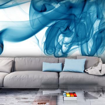 Fototapet - Blue smoke
