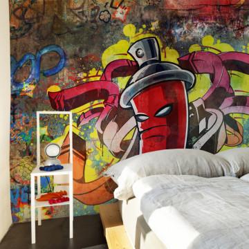 Fototapet - Graffiti monster