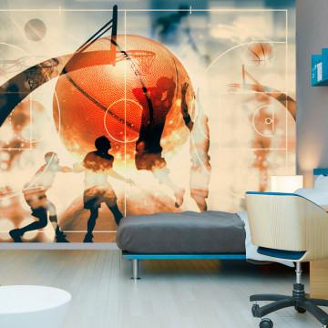 Fototapet - I love basketball!