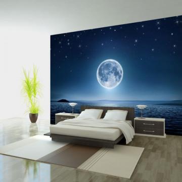 Fototapet - Moonlit night