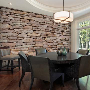 Fototapet - Natural stone wall