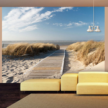 Fototapet - North Sea beach, Langeoog