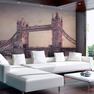 Fototapet - Painted London