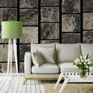 Fototapet - Painted Squares
