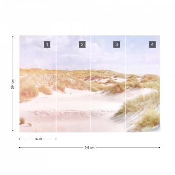 Fototapet Paradis în Deșert – Aspect Vintage