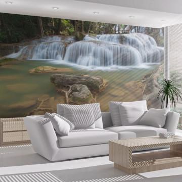 Fototapet - Pha Tad Waterfall, Thailand