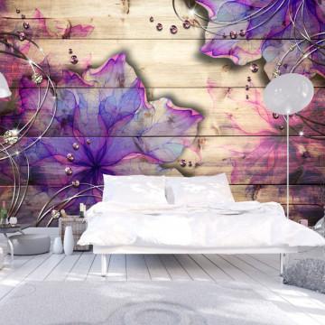Fototapet - Purple Memory
