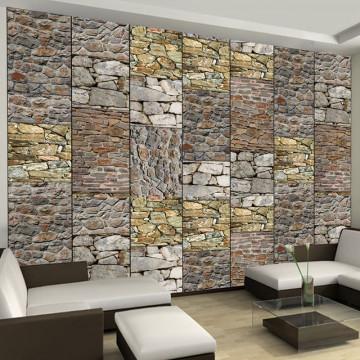 Fototapet - Puzzle with stones