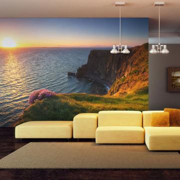 Fototapet - Sunset: Cliffs of Moher, Ireland