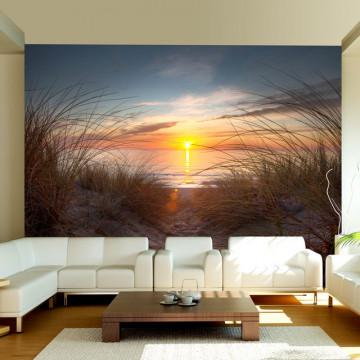 Fototapet - Sunset over the Atlantic Ocean