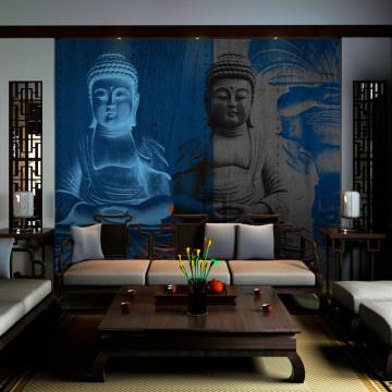 Fototapet - Three incarnations of Buddha