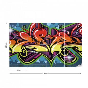Graffiti Street Art Photo Wallpaper Wall Mural