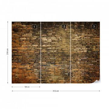 Grunge Brick Wall Texture Photo Wallpaper Wall Mural