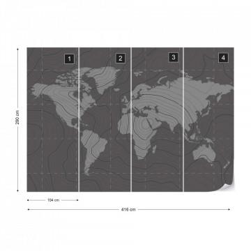 Harta Lumii – Aspect Grafic Minimalist