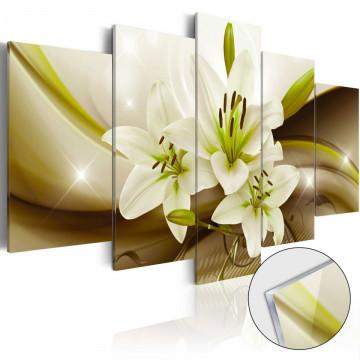 Imagine pe sticlă acrilică - Modern Lily [Glass]