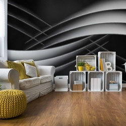 Interlaced Photo Wallpaper Mural