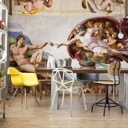 Michelangelo Painting Photo Wallpaper Wall Mural