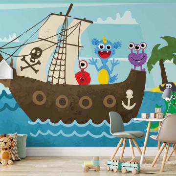 Monstruleții Prietenoși – Aventură pe Corabia Piraților