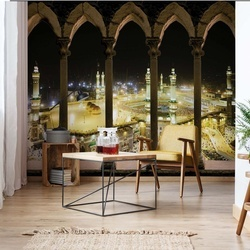 Mosque Islam Stone Archway View Photo Wallpaper Wall Mural