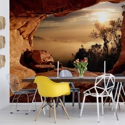 Mountain View Cave Photo Wallpaper Wall Mural